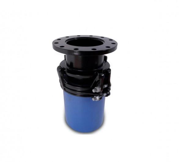 Aquagrip large diameter flange adaptor features and
