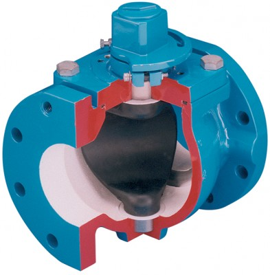 Viking Johnson Eccentric Plug Valve.cross-section
