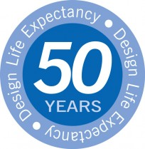 50 Years Design Life Expectancy
