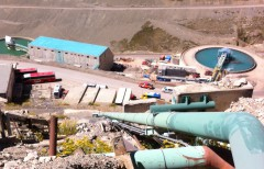 Codelco Andina Concentrator